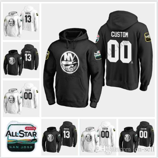 ee03002f0c0 Mathew Barzal New York Islanders 2019 All-Star Game Hoodie Scott ...