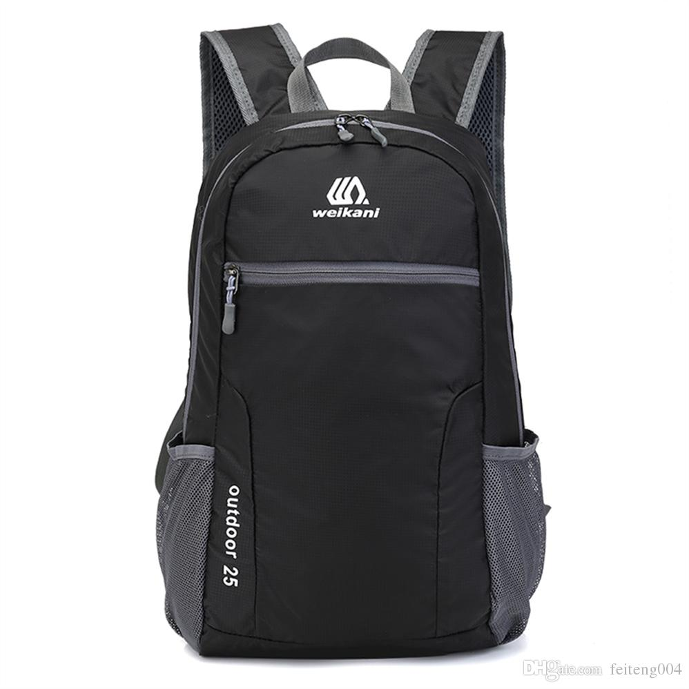 2019 25L Foldable Backpack Waterproof Outdoor Backpack Sports Cycling Bag  Camping Hiking Climbing Rucksack Travel Handy Bag Daypack  108486 From  Feiteng004 ae672c9fabcab