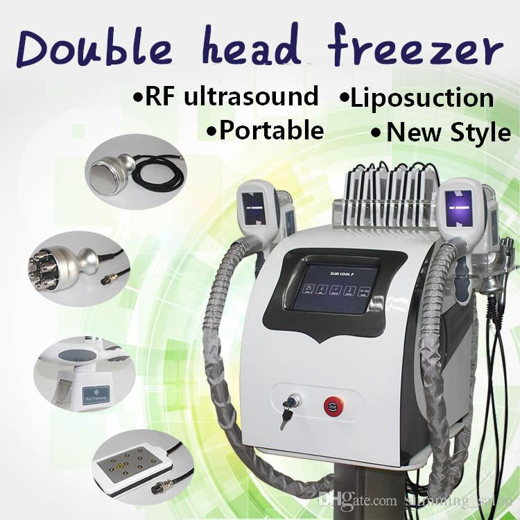 0ed476f576f 2019 Cryolipolysis Vacuum Cavitation Rf Body Fat Freezing Shape Slimming  System With Silicone Freezing Treatment Head Laser Cavitation Rf Slimming  From ...