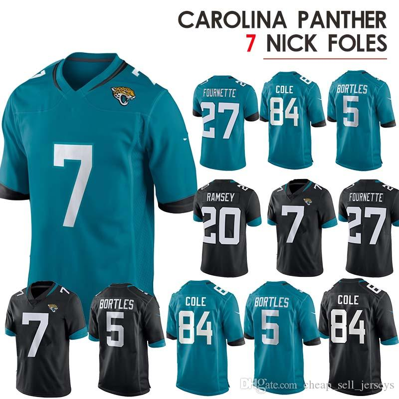 2ea91b8d17d 2019 Nick 7 Foles 9 Foles 20 Jalen Ramsey Pittsburgh Jersey Steeler Leonard  27 Fournette Blake 5 Bortles Game American Football Jerseys From ...