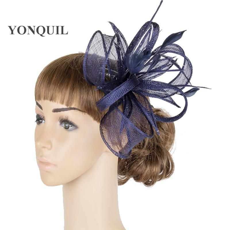 fascinator hats very nice wedding bridal hair accessoires Free shipping retail and wholesale 17color high quality MYQ077