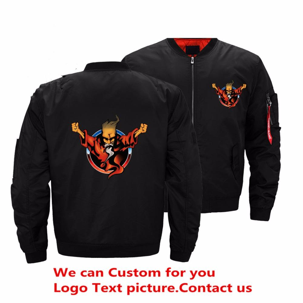 16785ab13f0ae Drop Shipping USA Size Thunderdome Jacket Men 25 Years Of Hardcore Mens  Jackets And Coats Ropa Hombre Streetwear Bomber Jackets Official Jackets  Denim ...