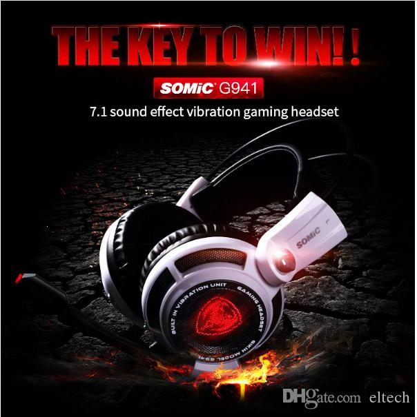7fa95d53ca7 Somic G941 USB 7.1 Gaming Headset Headphones with Microphone Noise ...