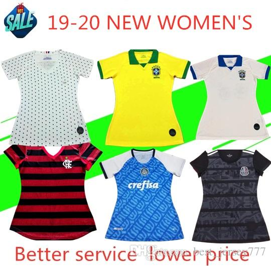 1c74748e Women s Jersey Colombia Mexico FR Brazil ladies football uniform 19 America  Cup Jersey 19Women s World Cup Football Jersey