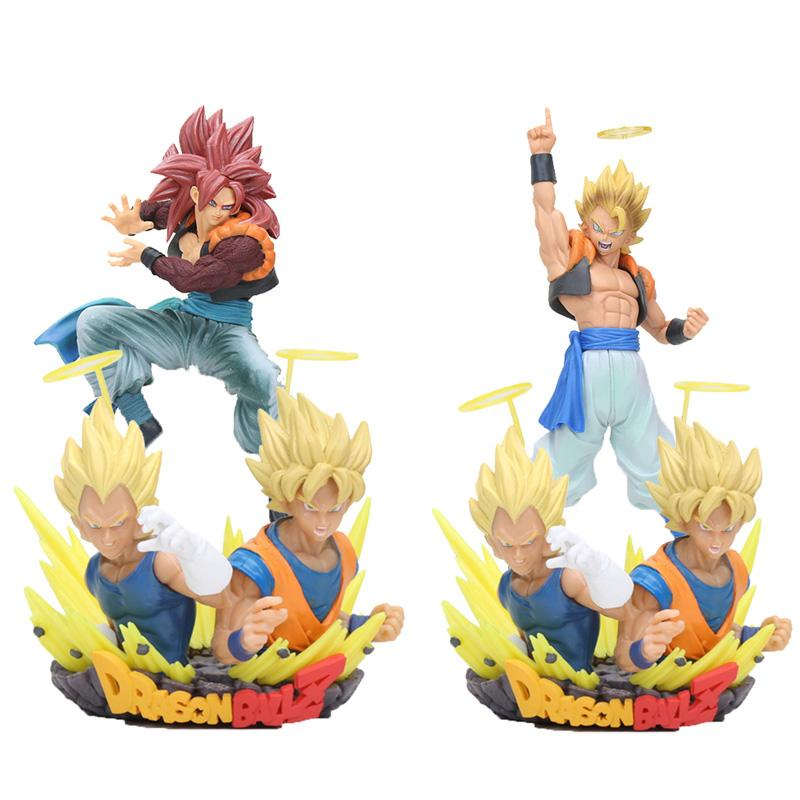 oys Hobbies Action Toy Figures anime Dragon Ball Z Action Figures Super Saiyan Figuration Gogeta vol.1 son goku vegeta PVC Figure Collect...