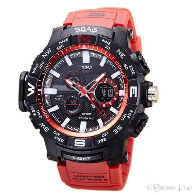 b272532d59f7 Compre 2018 AAA Relojes Para Hombre 2018 SANDA Reloj De Moda Para Hombres  Estilo G Relojes Deportivos A Prueba De Agua Relojes Deportivos De Choque  ...