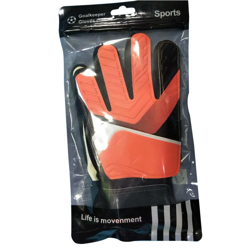 de5a35278 2019 Size 7 Young Man Kids/Boys Thicken Latex Football Goalkeeper Gloves  Goalie Soccer Goal Keeper Guantes Finger Guard Non Slip From Sportblue, ...