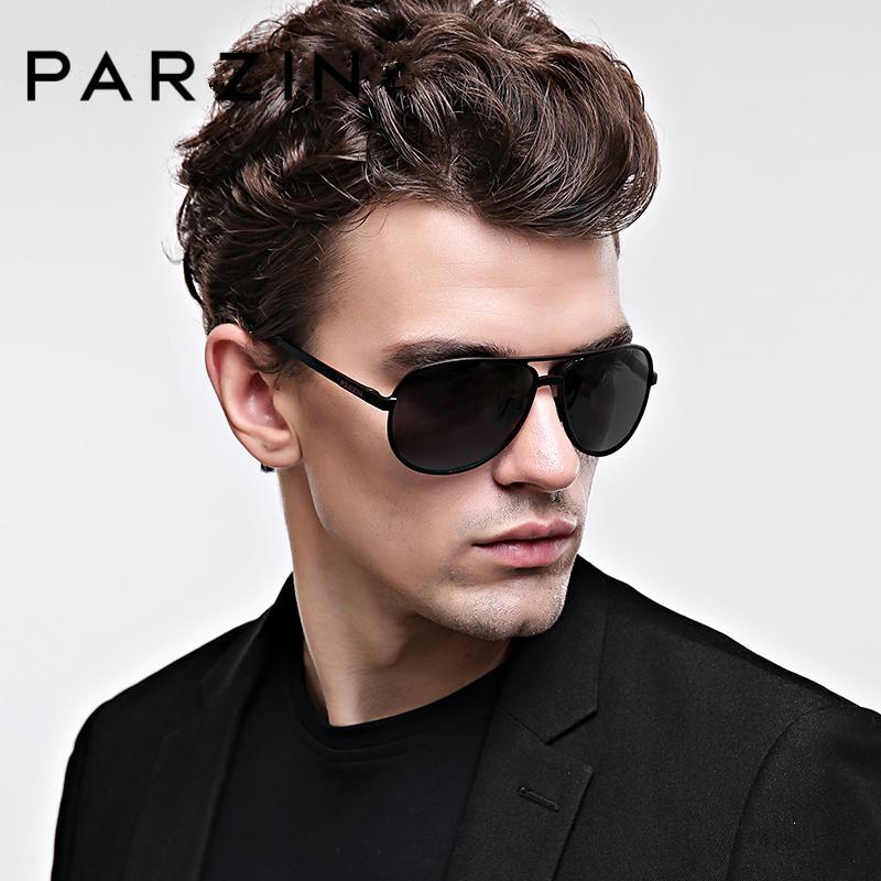 abd47a8962 PARZIN Retro Men s Sunglasses Polarized Luxury Aluminum Magnesium Pilot  Shades Men Glasses For Driving 2019 Sunglasses Cheap Sunglasses PARZIN  Retro Men s ...