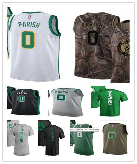 best website 98659 8f82e custom 2019 Boston Celtic Jerseys #0 Robert Parish Jerseys  men#WOMEN#YOUTH#Men's Baseball Jersey Majestic basketball jersey