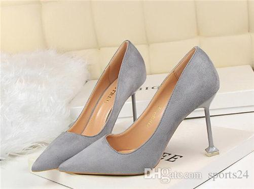 Free shipping Fashion womens Nude mesh crystal wedding shoe high heels thin heeled shoes pumps genuine leather luxury 2020 love