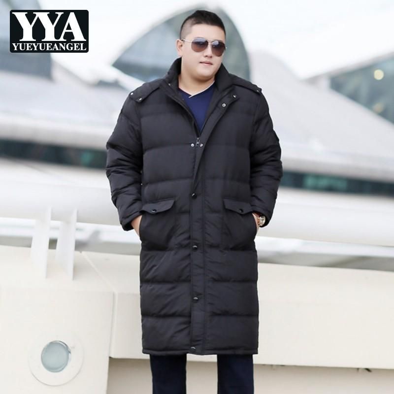 8ee101acf68e1 2019 Big Size 7XL 8XL 9XL 10XL Men Long Down Jacket Classic Hooded Warm  Ultra Light Down Jacket Men Hooded Zipper Winter Coats Male From Ingridea