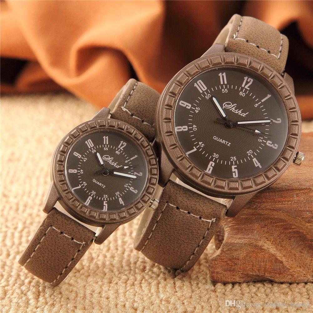 449ee425594 Hot Sales New Vintage Leisure Imitation Wood Pair Watches Men Women Lovers  Couple Dress Quartz Wristwatch Wood Online with  17.03 Pair on  Clothes season s ...