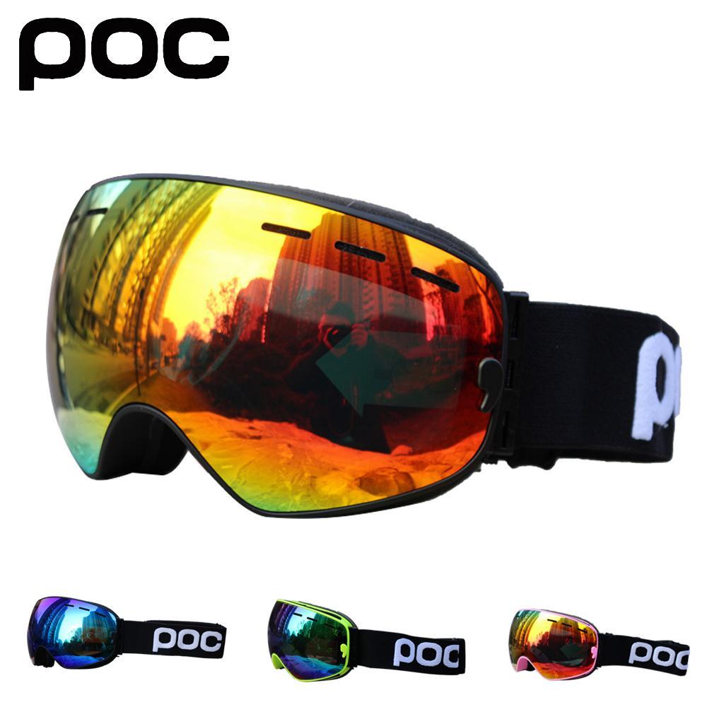 0157fdbae7d New 2019 Men Women Ski Goggles Double Layers Anti-fog Skiing ...