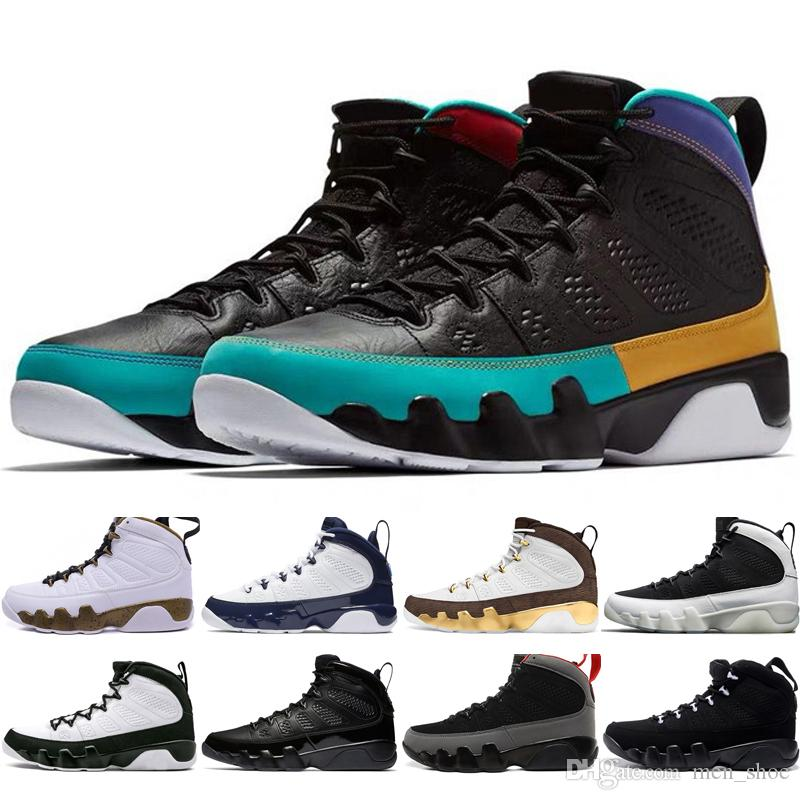 4c6cba498a7e9e Hot Cheap 9 9s Dream It Do It UNC Mop Melo Mens Basketball Shoes LA OG  Space Jam Men Bred Anthracite Black Sports Sneakers Designer Size7 1 Mens  Sneakers ...
