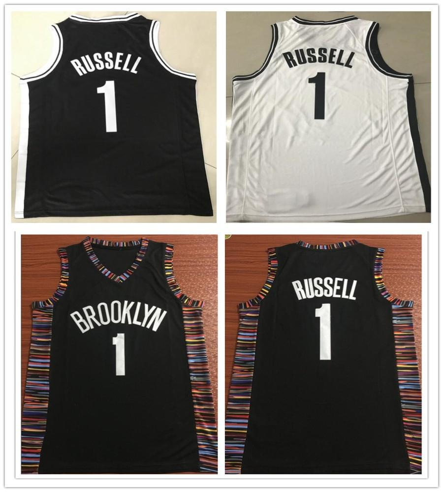 0871dc10 ... norway 2019 stitched 1 dangelo russell jersey new city black cheap men d  angelo russell jerseys
