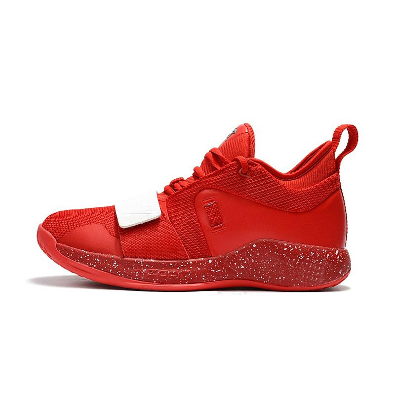 Cheap new 2018 Mens PG 2.5 Elite shoes 2s China Red White Zoom Air Cushion Paul George PG2 basketball sneakers with original for sale