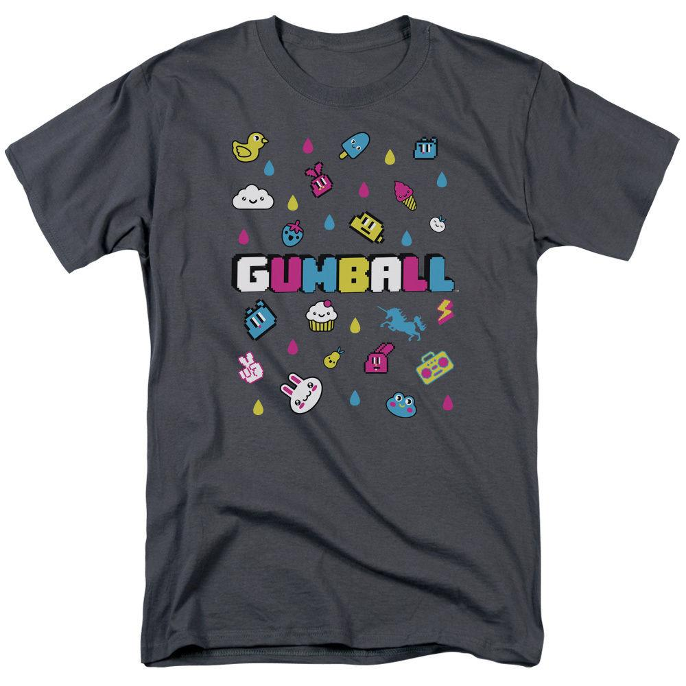 Amazing World of Gumball FUN DROPS Licensed Adult T-Shirt All Sizes Men Women Unisex Fashion tshirt Free Shipping