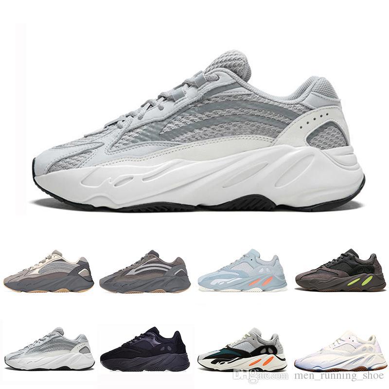 Adidas Yeezy Boost 700 V2 shoes Günstige Inertia Static Kanye West 700 Wave Runner Laufschuhe für Herren Damen 700s V2 Mauve Solid Grey Luxus Designer