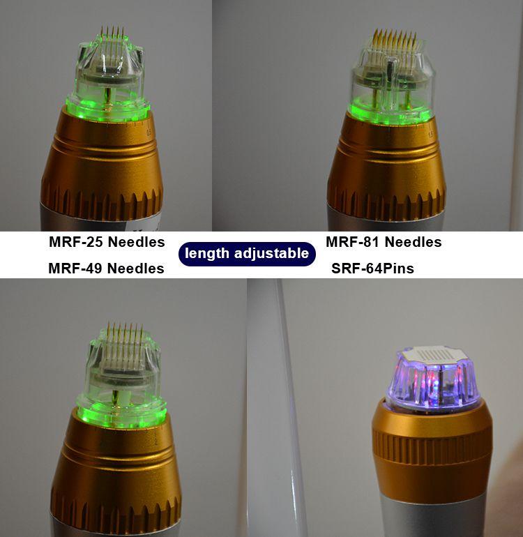 2021 Microneedling 스트레치 마크 제거 기계 분수 RF 얼굴 리프트 주름 감소 미세 바늘 노화 방지 여드름 흉터 제거
