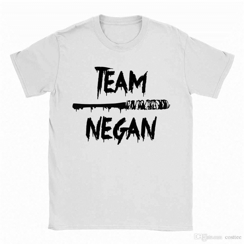 Team Negan Mens T Shirt Walking Dead The Saviors Gift Funny Top Lucille
