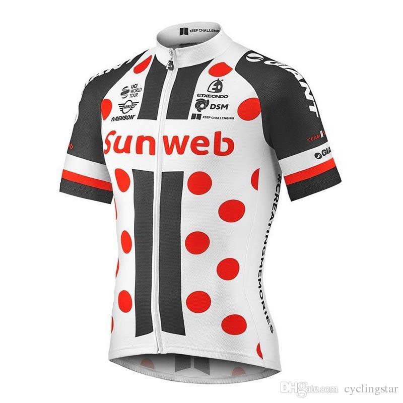 Acquista New Sunweb Cycling Jersey 2019 Roupa Ciclismo Traspirante  Magliette Da Ciclismo A Manica Corta Uomo Estate Traspirante Mountain Bike  Top Y011705 A ... 9752024ed