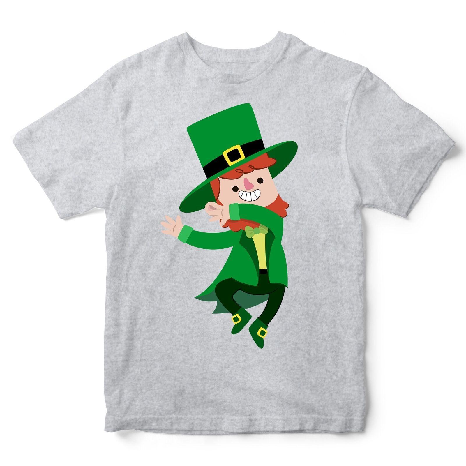 afeef7f3d Dabbing Leprechaun St Patricks Day T Shirt Funny Irish Gift Man ...