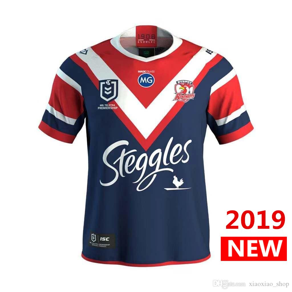 b1fd42929 DHL 2019 2020 SYDNEY ROOSTERS JERSEY Home Rugby Jerseys League Shirt ...