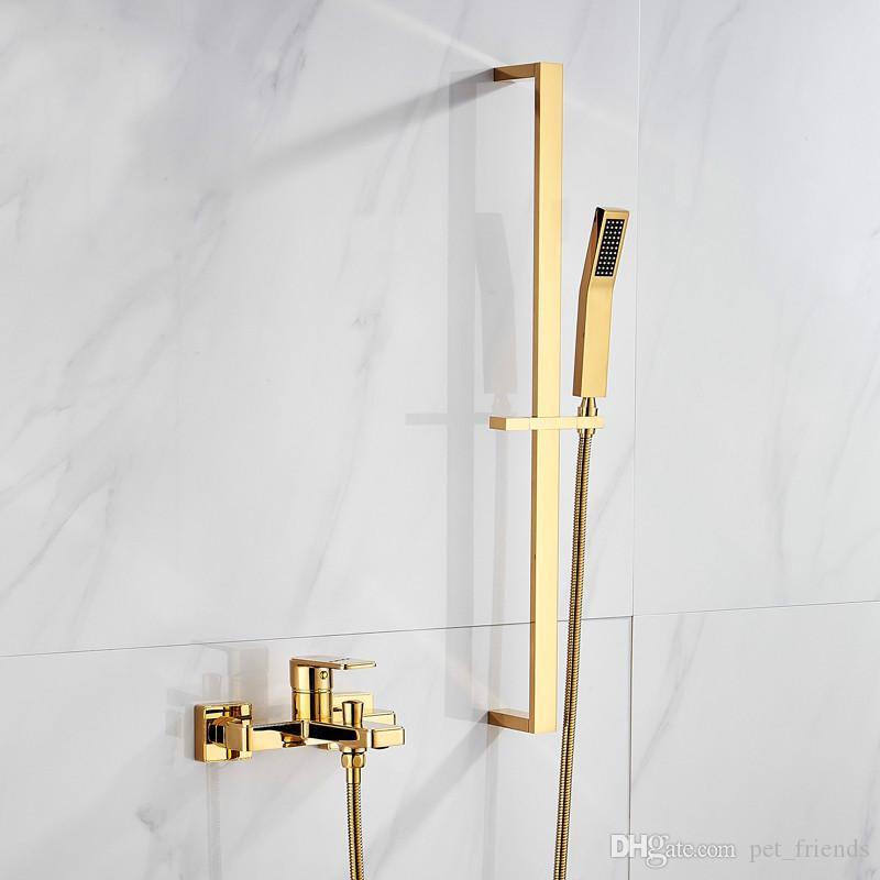 Frap Shower Faucets Bath Shower Head Set Mixer Bathroom Shower Faucet Bathroom Waterfall Rain Shower Panel Bath Faucet Tap 100% Original Shower Faucets Shower Equipment