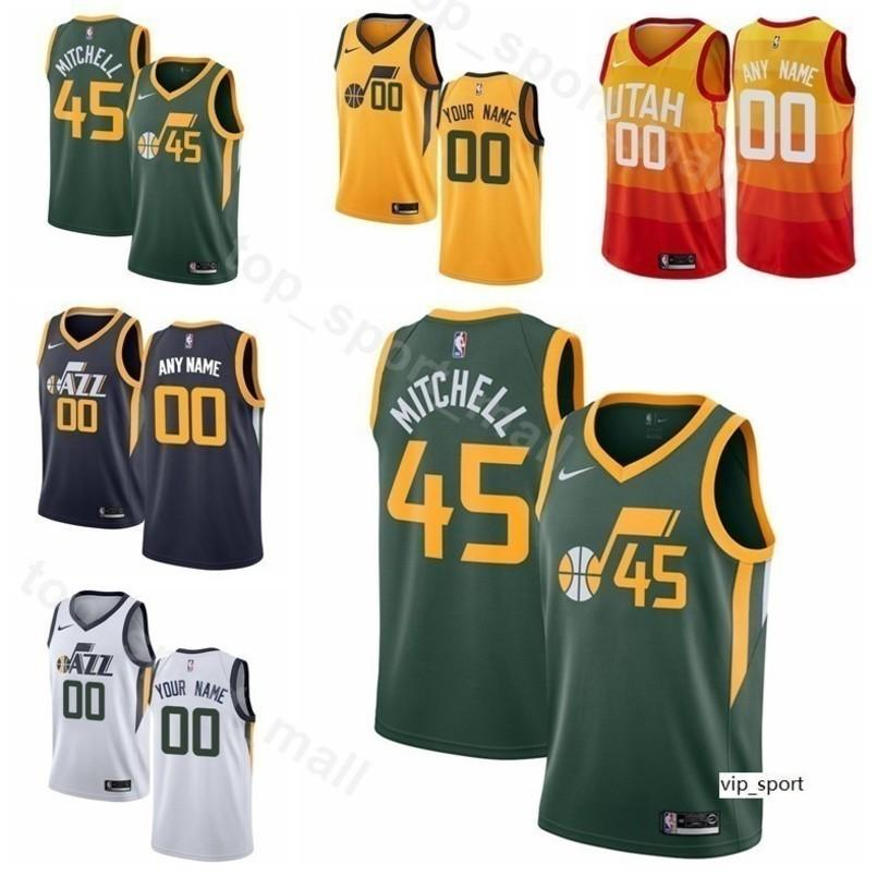best website 78ed3 bea44 Man Kids Woman Utah Print Derrick Favors Jersey Basketball Kyle Korver  Dante Exum Royce ONeale Raul Neto Grayson Allen Shirts