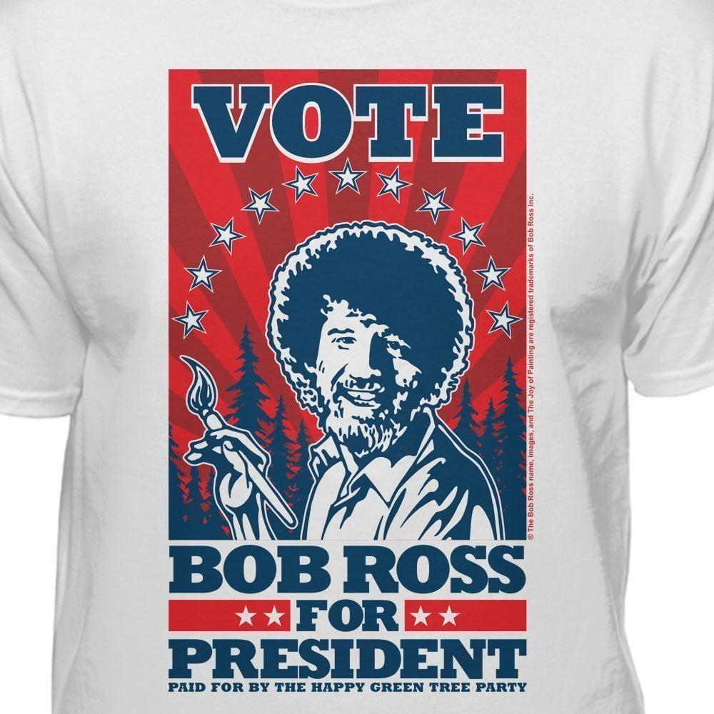 2a54117fb Bob Ross Vote For President Official Licensed T Shirt Cool Tee Shirts Cool  Tees From Twofulcup, $16.24| DHgate.Com