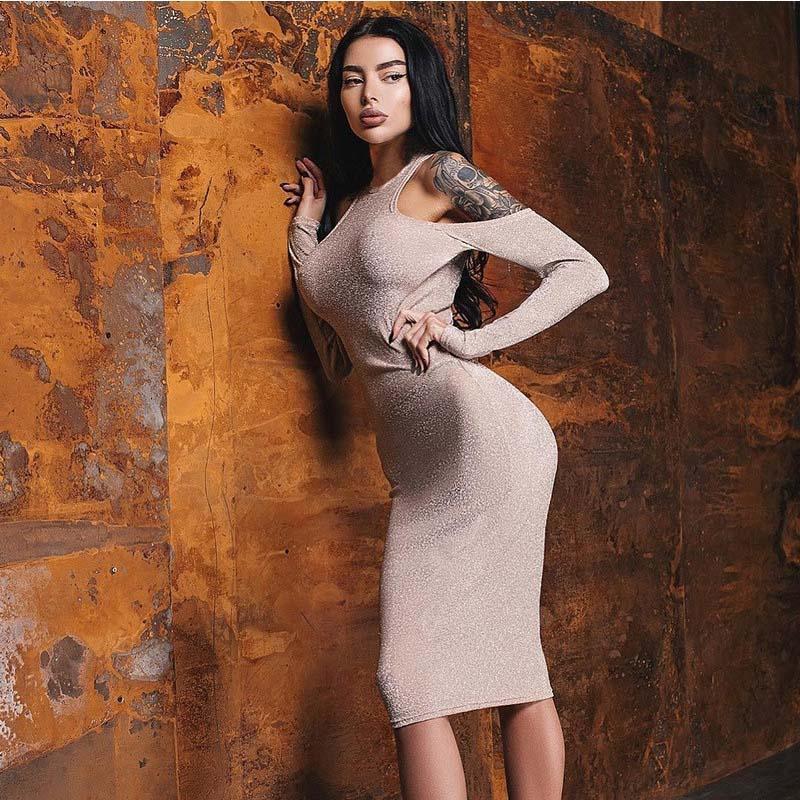 Women's Clothing Efficient Women Off Shoulder Ruffles Bodycon Mini Dress Sexy Slash Neck Cape Sleeve Bandage Club Party Dresses #25