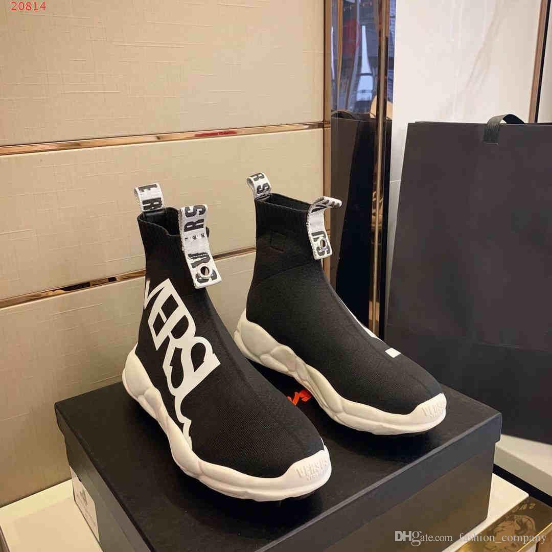 cc938ed9 Compre Calzado Deportivo Casual De Alta Calidad Para Hombre Calcetines De  Gama Alta Zapatillas De Deporte Personalizadas Para Hombre Calzado De Viaje  ...