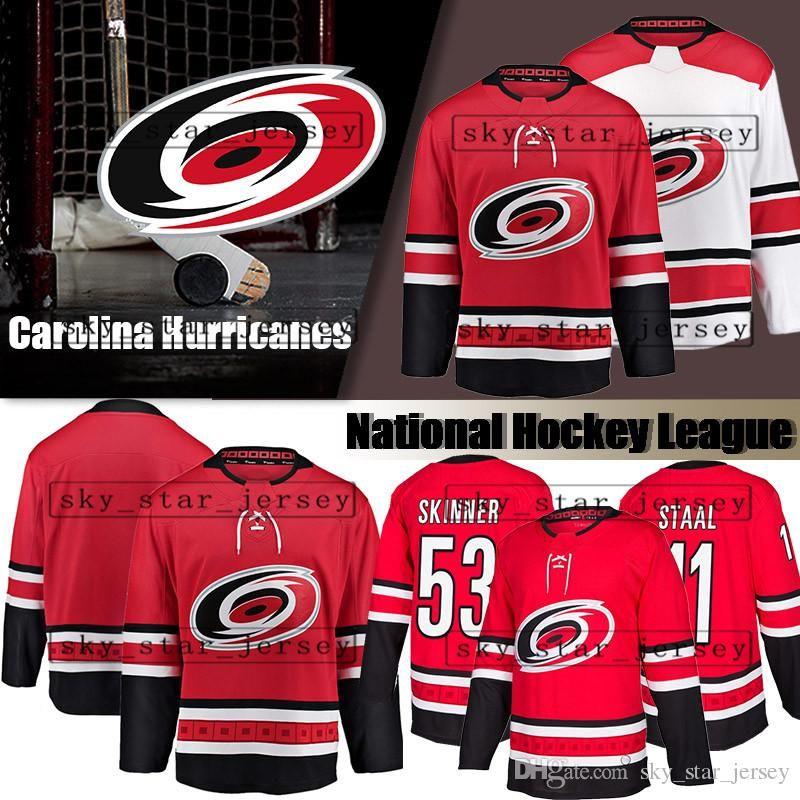 timeless design 748df 280bf hockey jerseys Carolina Hurricanes jerseys 11 Staal jersey 53 Jeff Skinner  jersey