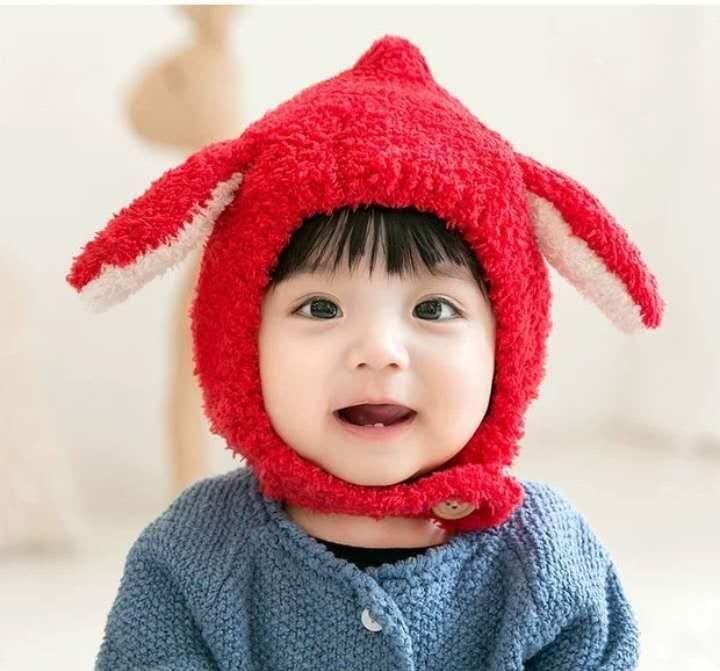 2019 ins new free shipping children s hat winter baby earmuffs cute  earmuffs fashion cute warm hat
