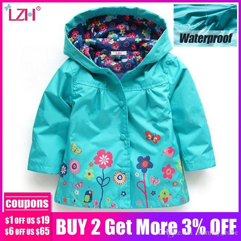 222129747 Baby Girls Windbreaker 2019 Spring Jackets For Girls Trench Coat Raincoat Kids  Outerwear Coat For Girls Jacket Children Clothes Kids Winter Jacket Leather  ...