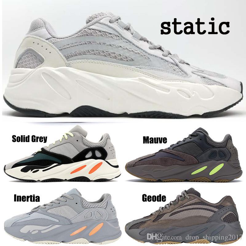 adidas yeezy 700 shoes Designer 700 Static Runner Sneakers Hot Mauve Inertia Laufschuhe Männer Frauen 700 V2 Wave Geode Sport Trainer Schuhe größe us