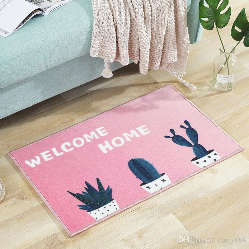 2019 Cactus Pattern Floor Mat For Living Room Kitchen Rug,Door Mat ...