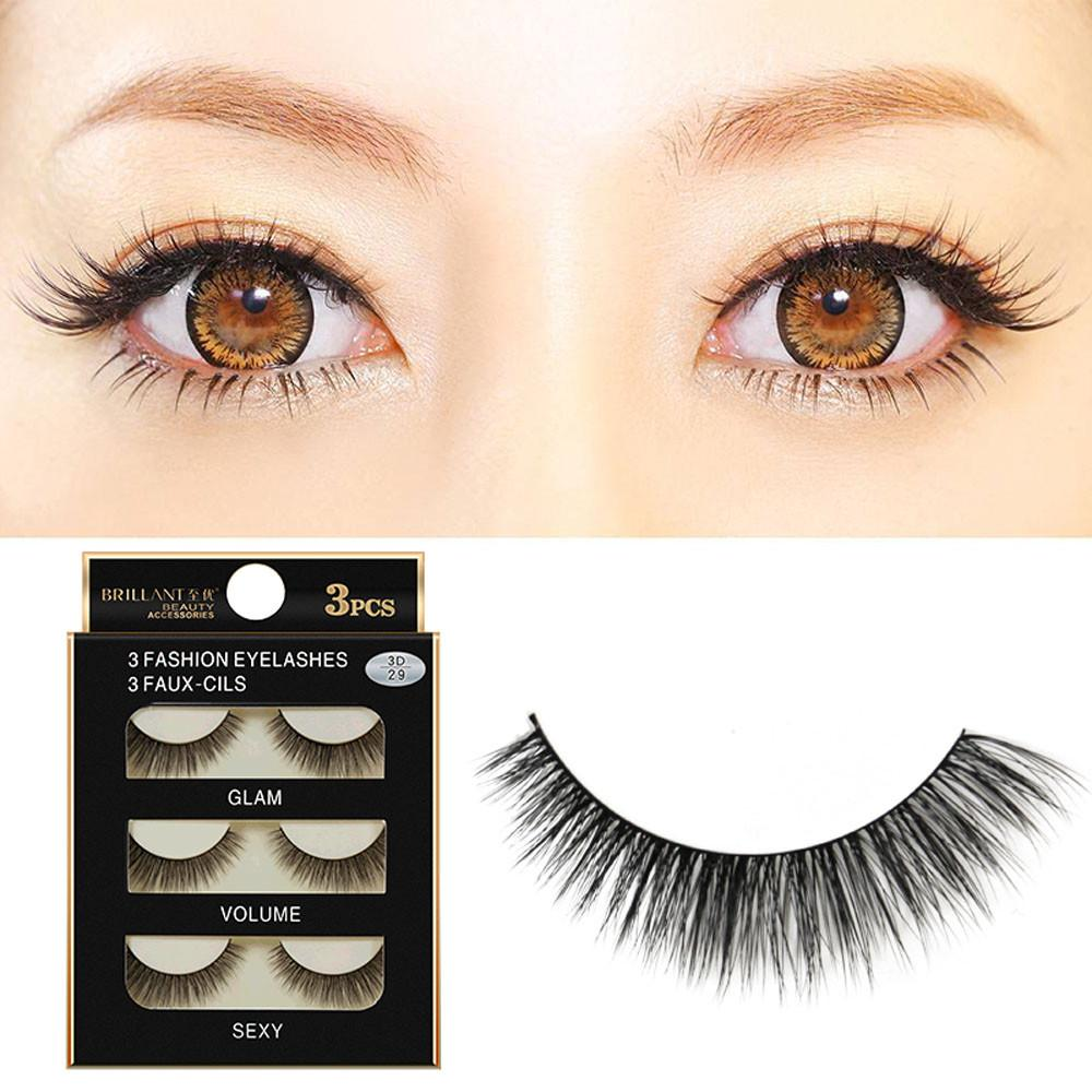fe9cc61a5d2 Natural Black Long Sparse Cross False Eyelashes Fake Eye Lashes Extensions  Makeup Tools Lash Extensions Red Cherry Lashes From Fukui, $34.1| DHgate.Com