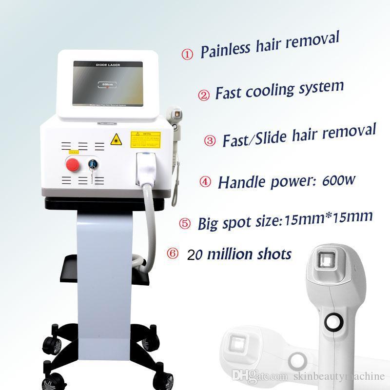 La nuova tecnologia 808nm trattamento laser e depilazione permanente 808nm sistema laser a diodi depilare macchina di trattamento