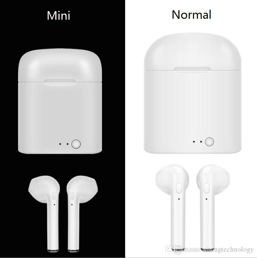 c98399efd75 Hot Sell I7s I8x I9s TWS Mini Wireless Bluetooth Earphone Stereo Earbud  Headset With Charging Box Mic For All Smart Phone Best Wired Earbuds Cell  Phone ...