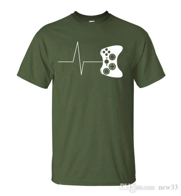 1165257e 2019 Mens Designer T Shirts Funny Gaming Tshirt For Gamer Video Game Shirt  Men Summer Novelty Men'S Short Sleeve T Shirt Cotton T Shirt Funniest T  Shirt ...