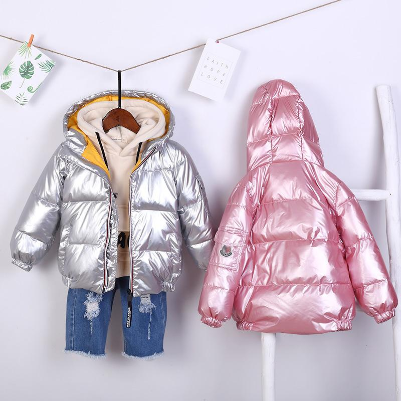 3f228ce6 Good Quality Children Baby Winter Coat For Girls Boys Down Jacket Zipper  Hooded Warm Thick Parkas Kids Windbreak Clothes 2 6 Years Toddler Goose  Down Jacket ...
