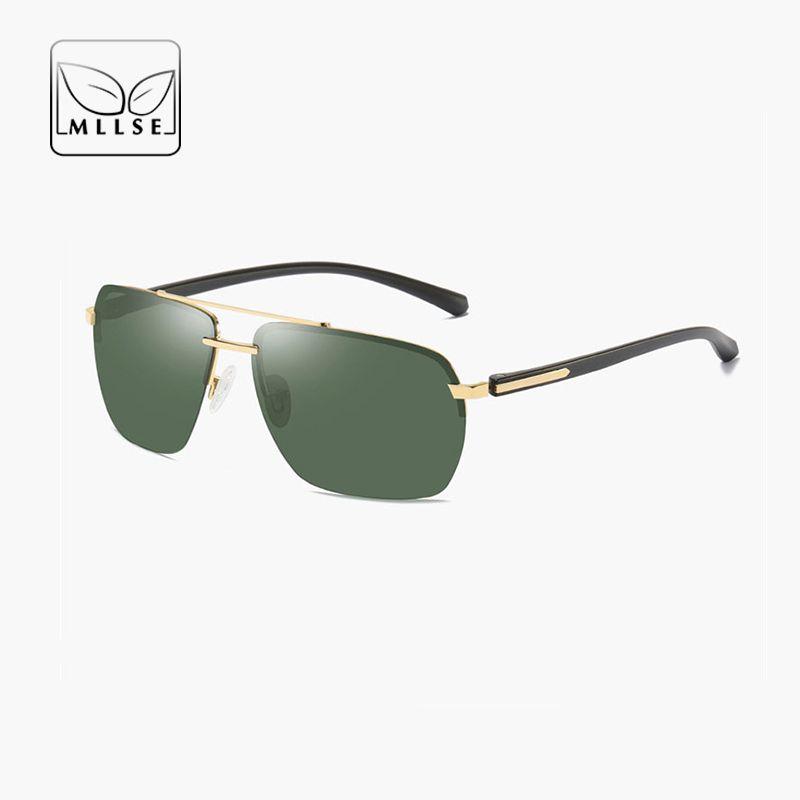 b189d6aa9a70 MLLSE Brand Goggle Polarized Sports Sunglasses Men Women Alloy Fishing Sun  Glasses Driving UV400 Unisex Sports Eye Wear Sunglasses Eyeglasses From  Linyicity ...
