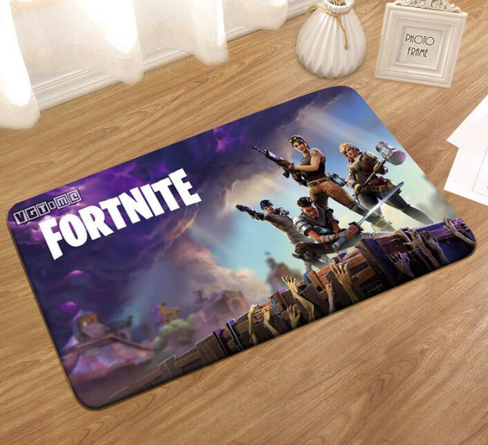 Fortnite Door Entrance Mats Indoor Letters Printed Floor Mat For