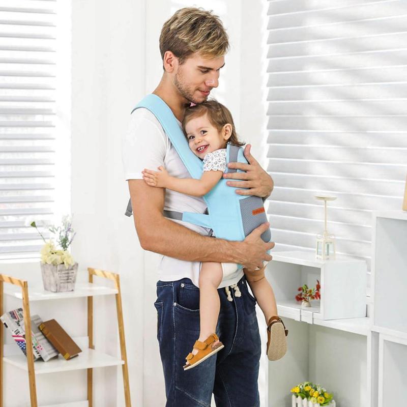 8652b5204249 Acheter Baby Lab Ergonomique Porte Bébé Wraps Kangourous Respirant Sling Sacs  À Dos Confortable Sling Sac À Dos Poche Hipseat De  39.35 Du Breenca    DHgate.