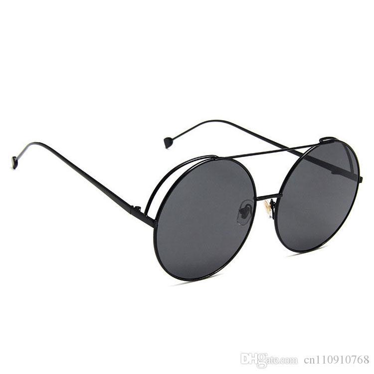 06f12abd6f AAB23 2019 Sunglasses Round Circle Men Women Pilot Aviation Style Alloy  Metal Frame And Tip End CE BOTERN Eyewear Sunglasses For Women Cat Eye  Sunglasses ...