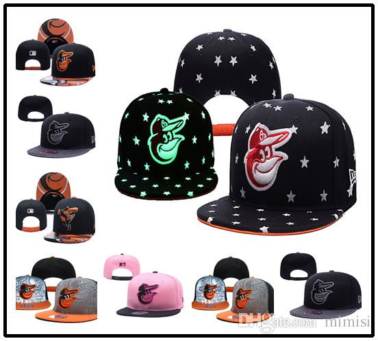 88fd4d9bc48 Baltimore Orioles New Hot Road Authentic Collection On Field Low Profile  59FIFTY Fitted Hat Black Orange Kangol Baseball Caps From Mimisi