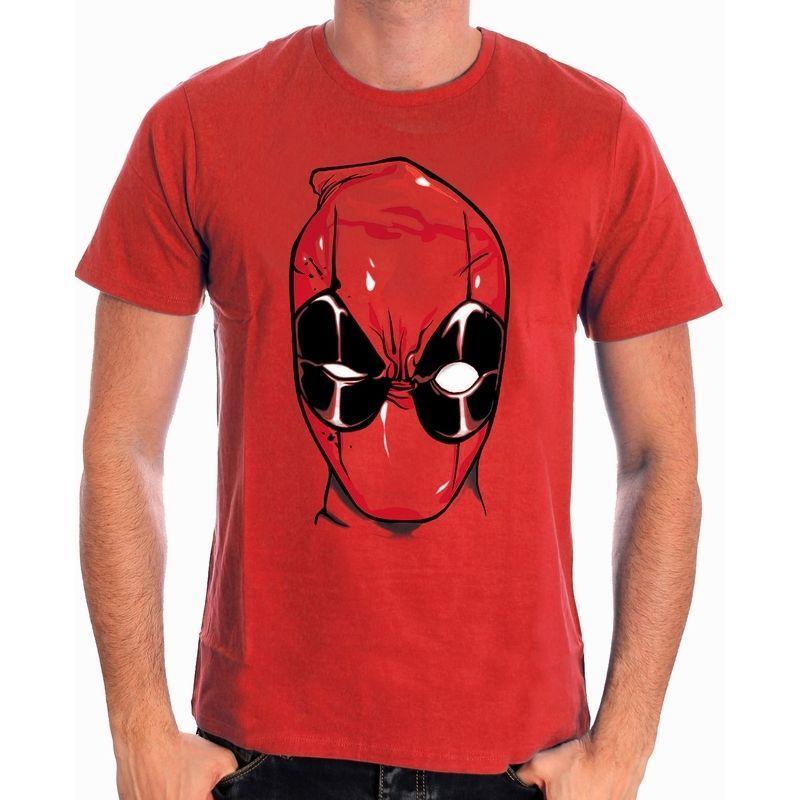 Compre OFICIALES DE MARVEL COMICS DEADPOOL HEAD   MASK RED T SHIRT NUEVO  Divertido Envío Gratis Unisex Casual Camiseta A  10.28 Del Classicclobber  41cb1ca0d11