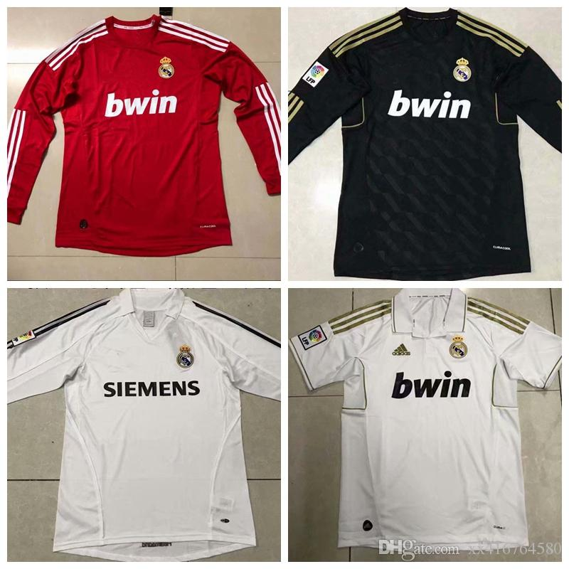 2019 05 06 11 12 Real Madrid Retro Shirts Retro Soccer Jerseys KAKA Zidane  RONALDO 2005 2006 2011 2012 Home Away 3rd Football Shirt From Xx416764580 9c983f5fcf068