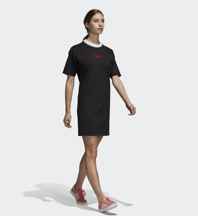 5d99a3f9dd2b Womens Designer Sport Dresses Luxury Womens Short Casual Brand Dresses 2019  New Arrival Women A Letter Skirts Short Sleeve Size XS XL Evening Gowns  Dresses ...